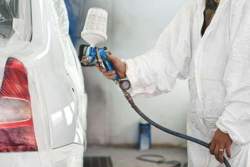 What Kind of Compressed air do I need for vehicle body painting?