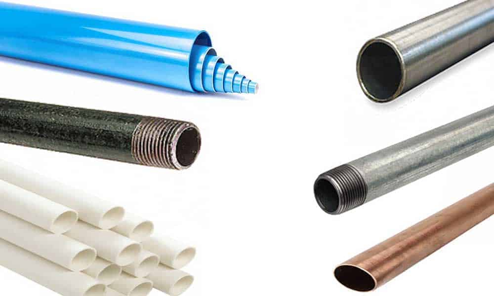 What is the best compressed air pipe